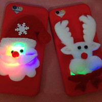 Cartoon iPhone Case with Light
