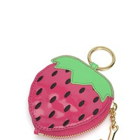 Palm Oasis Strawberry Coin Purse by Juicy Couture