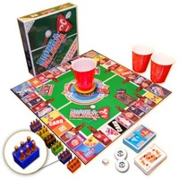 """DRINK-A-PALOOZA: The """"Monopoly"""" of Drinking Games, Board Games, Party Games & Bachelorette Party Gifts featuring Kings Drinking Games, Beer Pong & Flip Cup"""