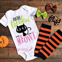 halloween baby outfits, halloween baby clothes, halloween shirts, fall baby clothes, cat baby outfit, halloween costume, fall baby shower