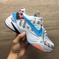 HCXX 19Aug 161 Off-white Nike Air Monarch the M2K Tekno Retro Sneakers Men Women Running Shoes
