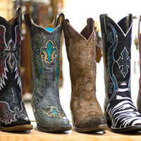 Authentic Cowboy Boots   Latest in Fashion Cowgirl Boots   Baskins
