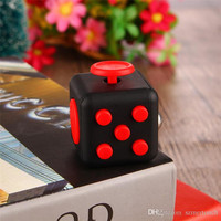 Factory Price Anti-irritability Relieves Pressure Dice Fidget Cube For Kid Adult Focus At Home Work Class Newest Vinyl Desk Toy