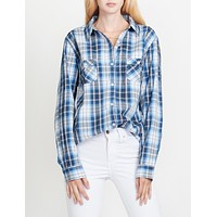 Plaid Western Shirt (CLEARANCE)