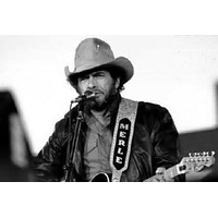 """Merle Haggard poster Metal Sign Wall Art 8in x 12in 12""""x16"""" Black and White"""