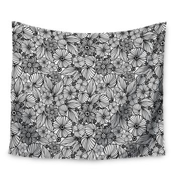 Candy Flowers by Julia Grifol Wall Tapestry