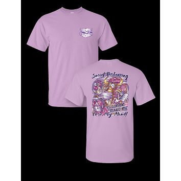 Sassy Frass Social Distancing is Gonna Make Me Lose My Mind Farm Animals COVID-19  T-Shirt