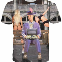 Mack Daddy Forrest TakeAllYoHoes GumpT-Shirt