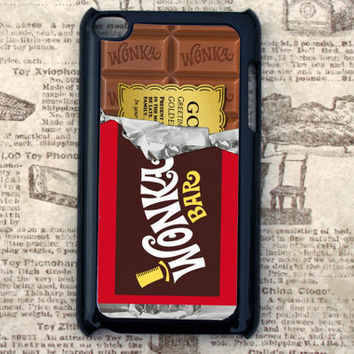 Willy Wonka Golden Ticket Inspired iPod touch 4th generation case