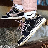 Travis Scott x Nike SB Dunk Low Retro new men and women casual sneakers