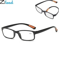Zilead Ultra-light Foldable Reading Glasses Brand Women&Men Anti-drop Reading Magnifying Presbyopic Glasses oculos gafas