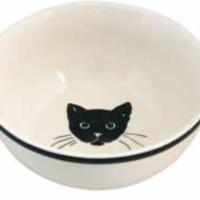 Cat Nappy Cereal Bowl