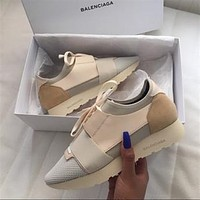 BaLenciaga Fashion Race Runners Sneaker-9