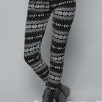 Snowflake Fleece Leggings