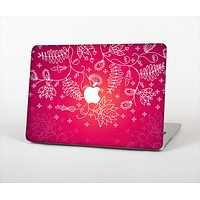 """The Glowing Pink & White Lace Skin Set for the Apple MacBook Air 13"""""""