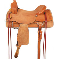 American Saddlery Comanche Ranch Cutter Saddle
