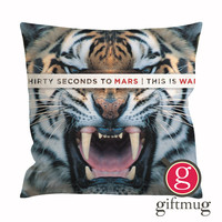 30 Seconds To Mars This Is War Album Cover Cushion Case / Pillow Case