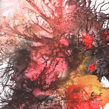 """""""The Change Within"""" by Raeanne Williams, Acrylic on Canvas"""