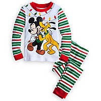 Mickey Mouse & Pluto PJ Pal for Boys - Holiday
