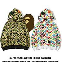 Bape Coat Aape Tide brand shark head small dinosaur joint camouflage Jacket