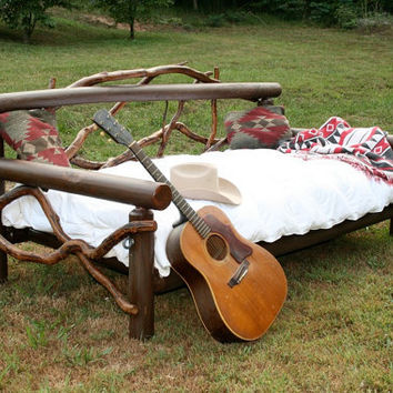 Log Day Bed / Porch swing
