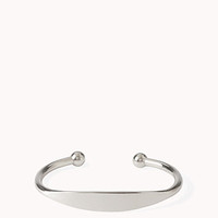 FOREVER 21 Classic Cuff Silver One