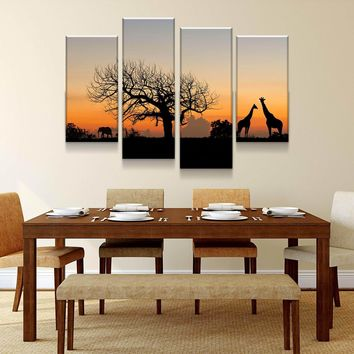 African Savannah Canvas Set