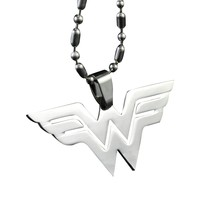 Wonder Woman Universe Super Hero Chain Fashion Stainless Metal Necklace