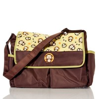 Monkey Messenger Diaper Bag 380593090 | Sling Messenger Bags | Diaper Bags | Baby Gear | Burlington Coat Factory