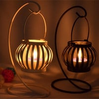 Home Decor Vintage Lights Iron Gifts Candle Stand [6256365062]
