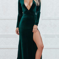 Courtney Velvet Maxi Dress