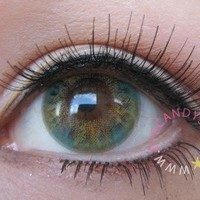 NEO Lucky Clover Green Cosmetic Colored Circle Lens Contacts