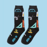 Office Essential Sock | Black
