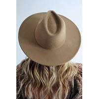 Take Me With You Hat: Dusty Taupe