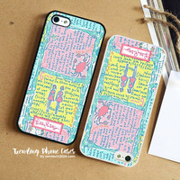 Written In The Stars Shop-Lilly Pulitzer iPhone Case Cover for iPhone 6 6 Plus 5s 5 5c 4s 4 Case