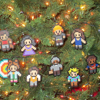 Firefly, Serenity Inspired Bead Sprite Magnets, Ornaments, or Wall Decor