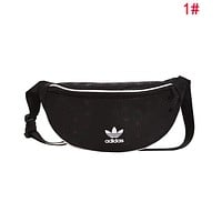 Adidas Popular Men Women Cool Purse Waist Bag Sport Single-Shoulder Bag Crossbody Satchel 1#