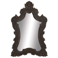 Noir Baroque Decorative Mirror