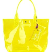 Market Bag - Neon Yellow