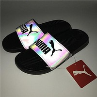 PUMA Chameleon Reflective Fashion Sandal Slipper Shoes