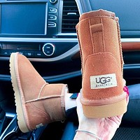 UGG women's warm snow boots shoes