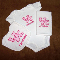 Custom Personalized Pink University of Kentucky by StinkPotStew