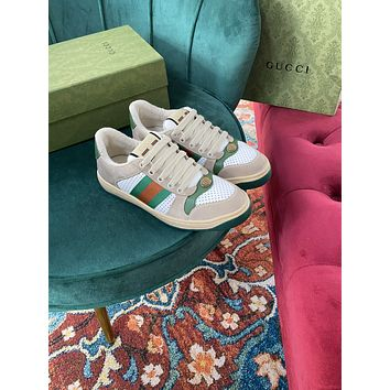 Gucci2021 Men Fashion Boots fashionable Casual leather Breathable Sneakers Running Shoes0524pm