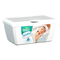 Pampers Sensitive Tub of Wipes - 64 Count