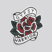 Large Rose Patch - Gypsy Warrior