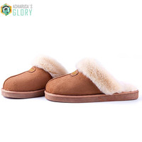 Female Home Slippers Winter Pantufa Men Women Fenty Shoes Slipper Christmas Gift Female Plush Slippers Zapatillas CTSLP-1246