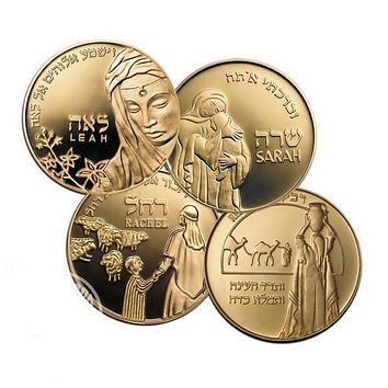 Mothers In The Bible - Set 4 Bronze Medals