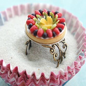 Mixed Fruit Pie Ring