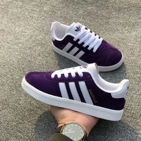 """Adidas"" Women Sport Casual Multicolor Stripe Plate Shoes Fashion Sneakers"