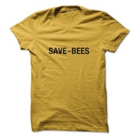 Sun Frog Shirts Women's Save The Bees T-Shirt